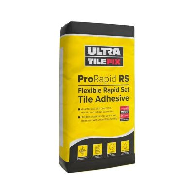 Electric Underfloor Heating | Buy Rapid set flexible tile adhesive